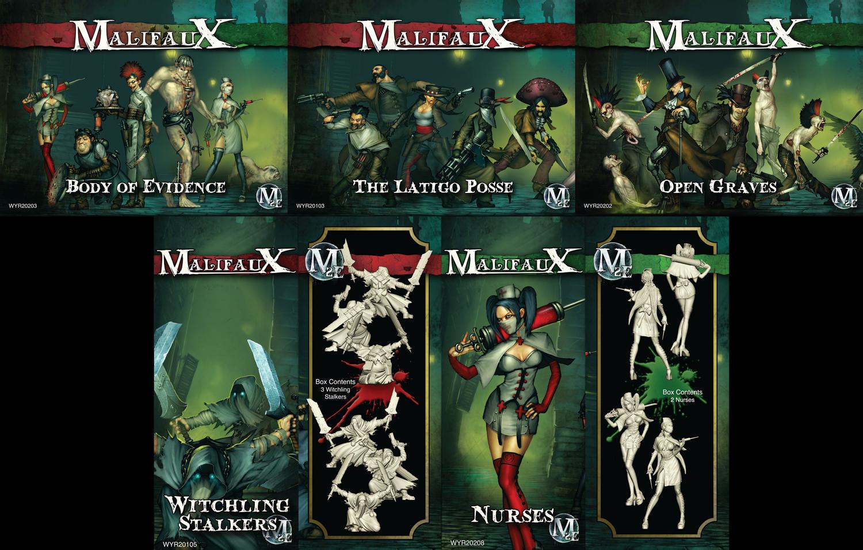 Malifaux - RULES ONLY Handbook - 2E - Wyrd Miniatures
