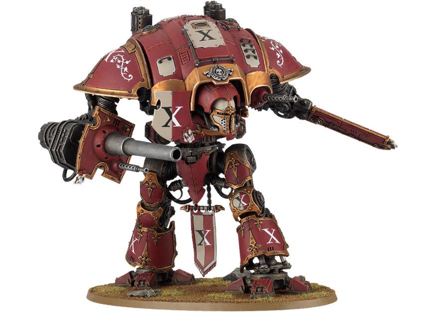 Games Workshop: Warhammer 40,000 Imperial Knights Take The Battlefield